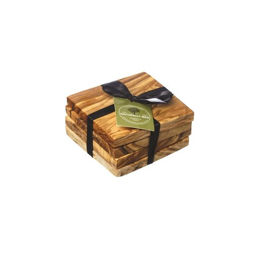 Naturally Med Set of 4 Square Coasters   037