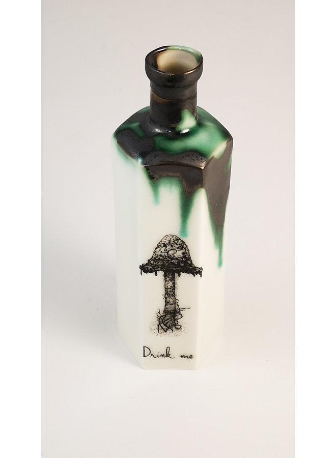 Tintenkappe Fliegenpilz Sechseckige Giftflasche 150