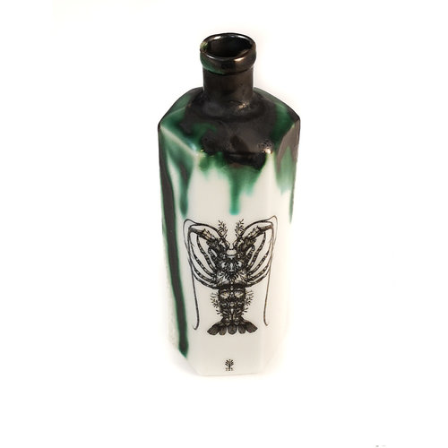 Jillian Riley Designs Langosta Hexagonal Veneno botella 148