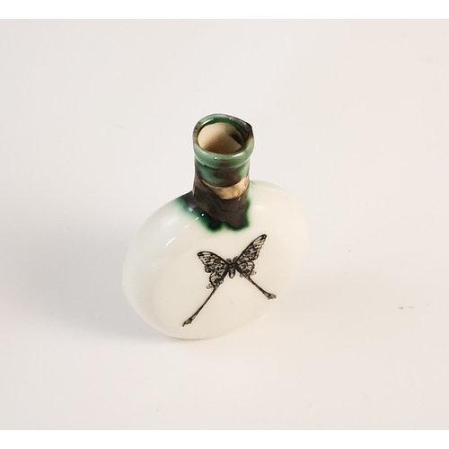 Jillian Riley Designs Luna Moth round Boots  bottle 161
