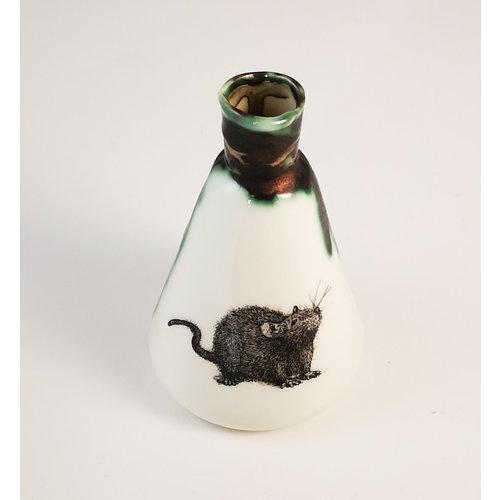 Jillian Riley Designs Frasco de cono de rata botella 157
