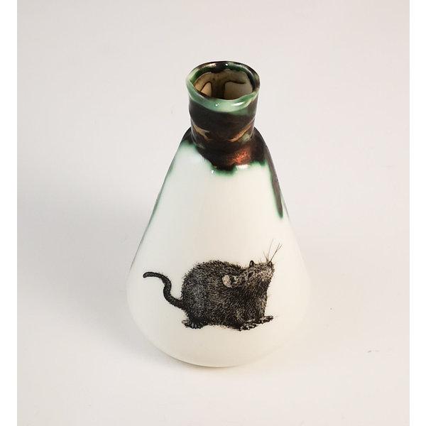 Fles met rattenkolffles 157