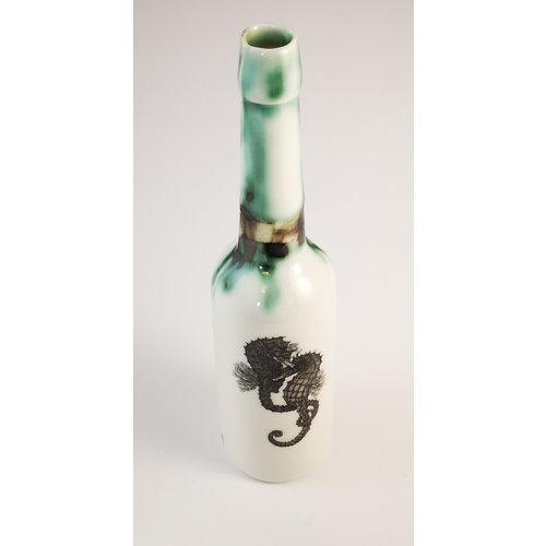 Jillian Riley Designs Botella de agua de caballitos de mar Florida 147