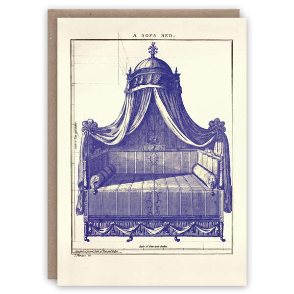 Een Sofa Bed patroonboekkaart
