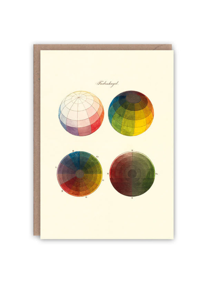 Farbkugeln Musterbuchkarte