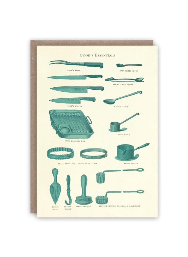 Cooking Essentials Musterbuchkarte