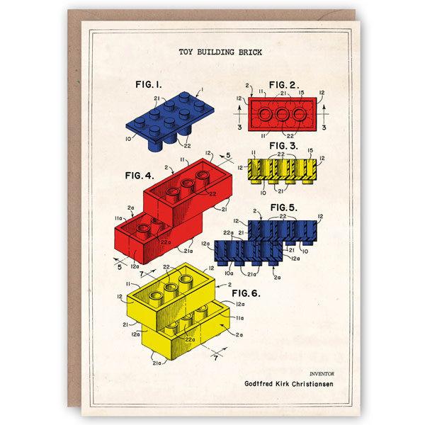 Lego patroonboekkaart