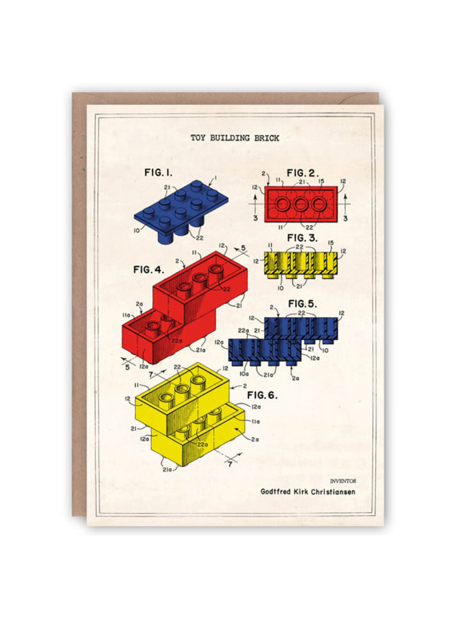 Lego-Musterbuchkarte