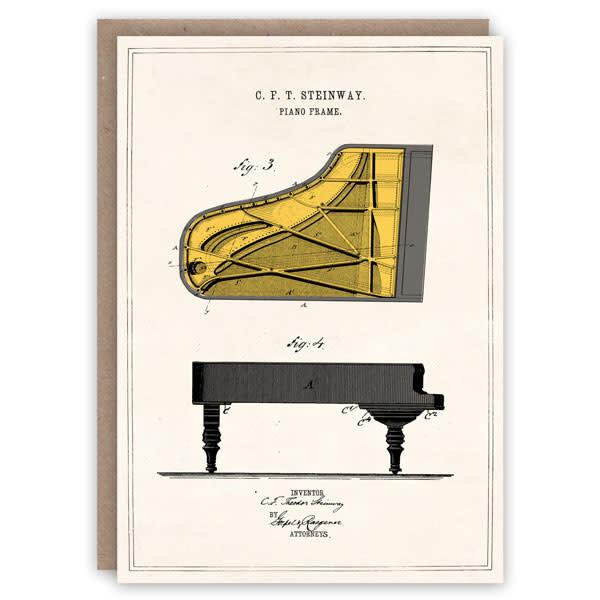 Steinway patroonboekkaart