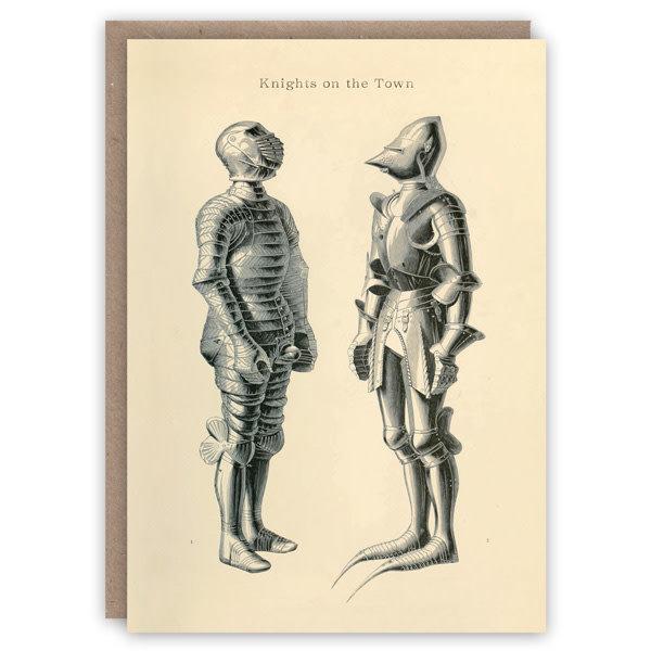 Ridders patroon boek kaart