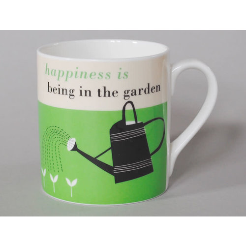 Repeat Repeat Happiness Grote mok Gardening Green 120
