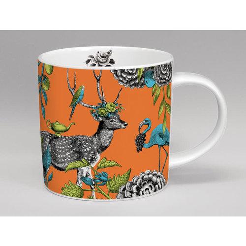 Repeat Repeat Menagerie Deer large orange mug 07