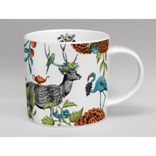 Menagerie Deer grote witte mok 151
