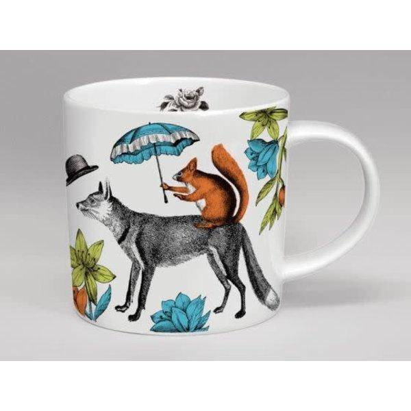 Menangerie Mr. Fox grote witte mok 155