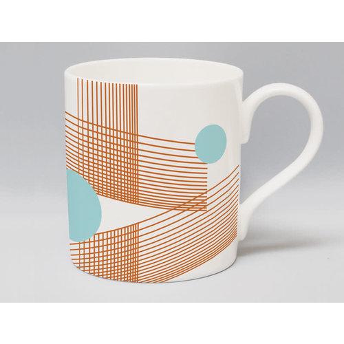 Repeat Repeat Metric Parallel Bronze mug 56