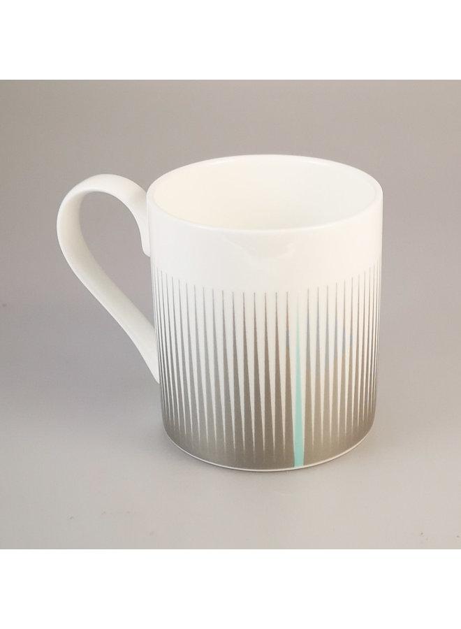 Metrische Linien Silberbecher 149