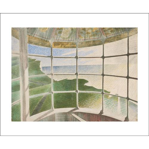 Art Angels Beachy Head Lighthouse card by Eric Ravilious