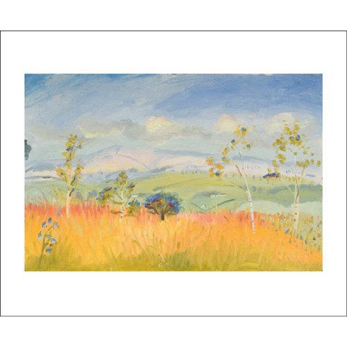 Art Angels Bright Autumn Sky card by Winifred Nicholson