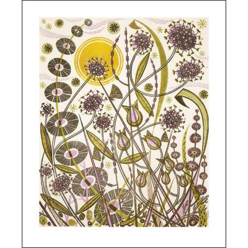 Art Angels Skye Sun card by Angie Lewin