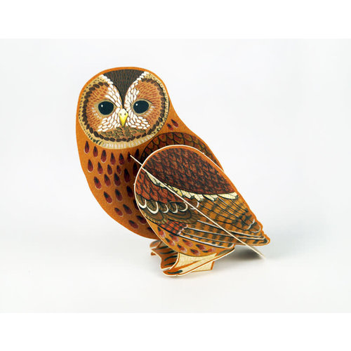 Art Angels Tawny Owl Pop-Out card byAlice Melvin