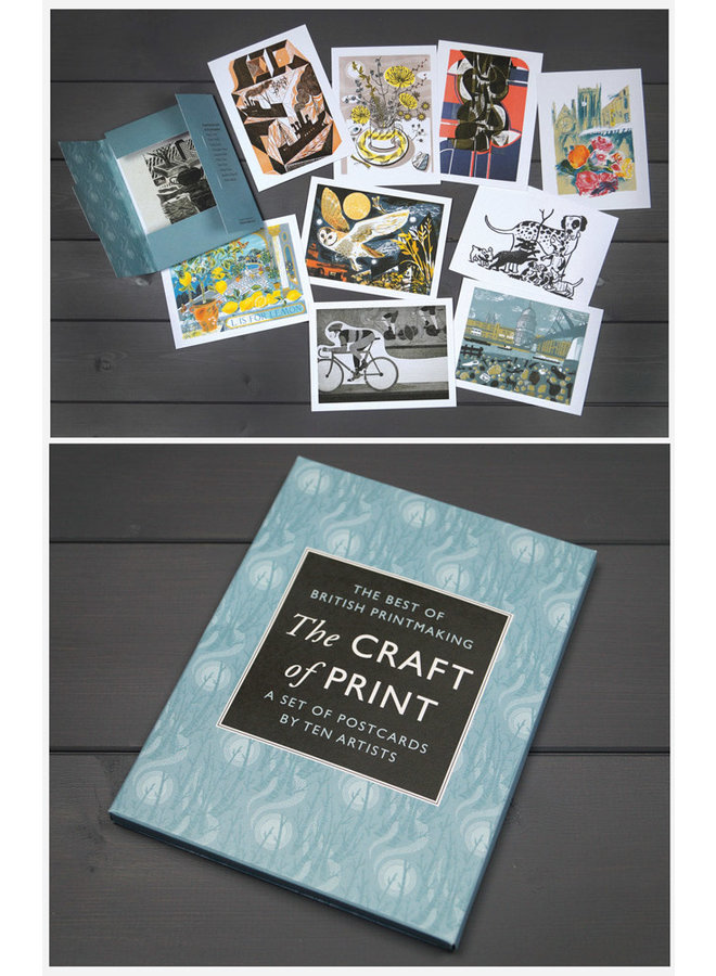 The Craft of Print Postcards by 10 Artists