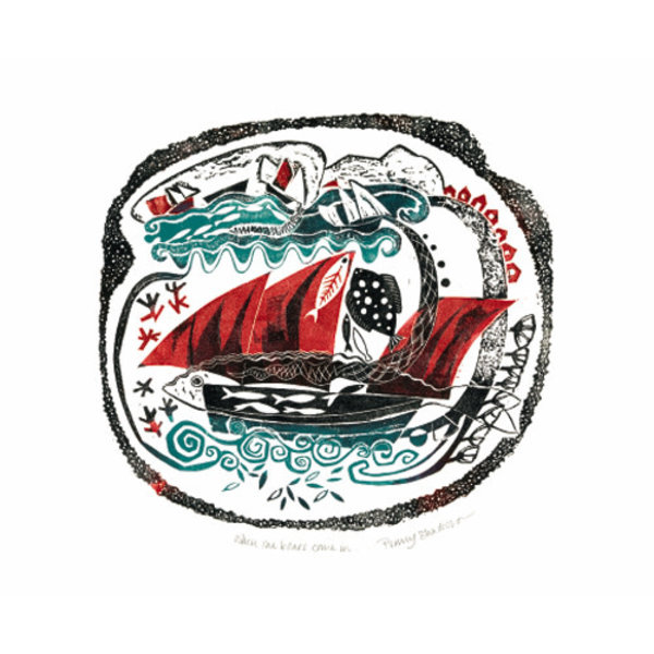 When the Boats Come In card by Penny Bhadresa