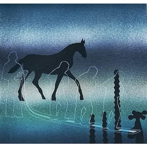 Sara Philpott Paard en water 042