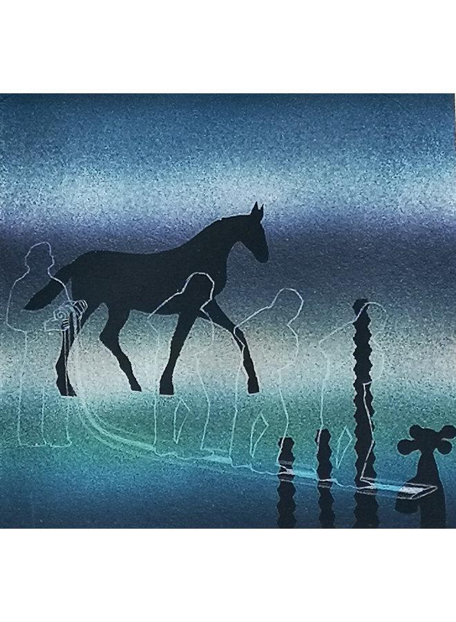 Pferd und Wasser 042