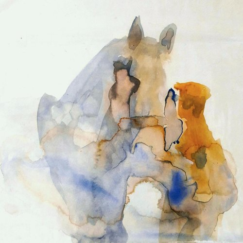 Sara Philpott Hombre y caballo 034