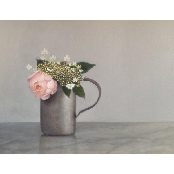 Rose en Hydranger in een kwartmaat 033
