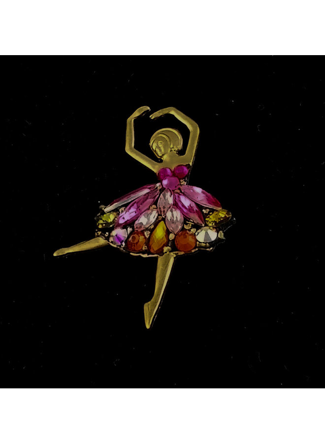 Balletttänzer Brosche 191