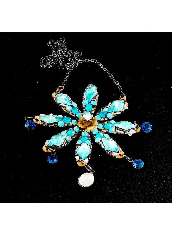 Blue Star Halskette 178