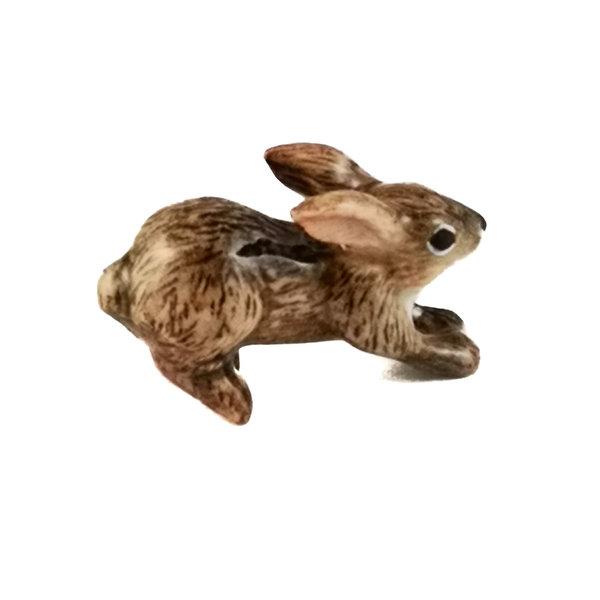 Springen Brown Bunny Charm handbemalt 100