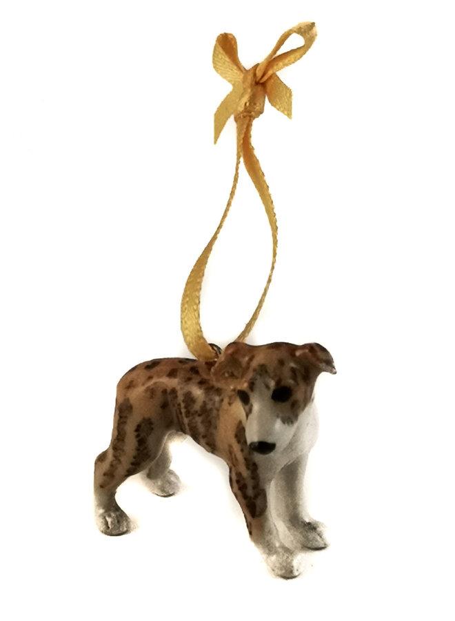 Whippet Dog Charm handbemalt 102