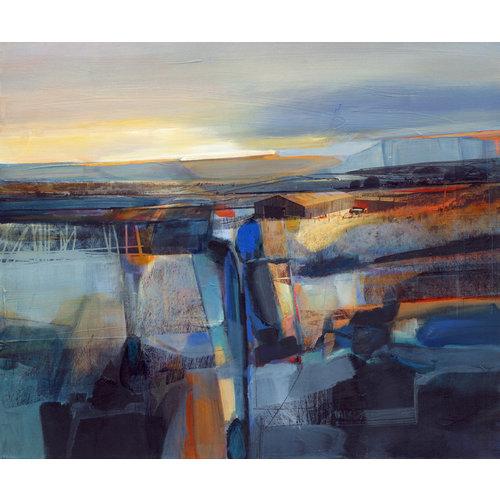 Kate Boyce Art Winters Light, Lumbutts print 45