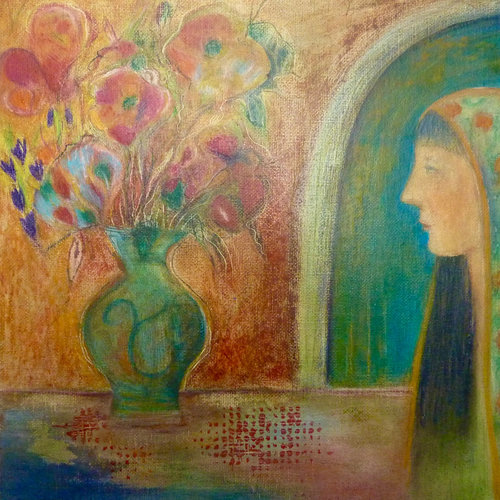 Louise Oliver Listening at the Vase  43