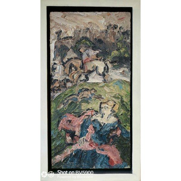 St. George und der Drache nach Tintoretto 031