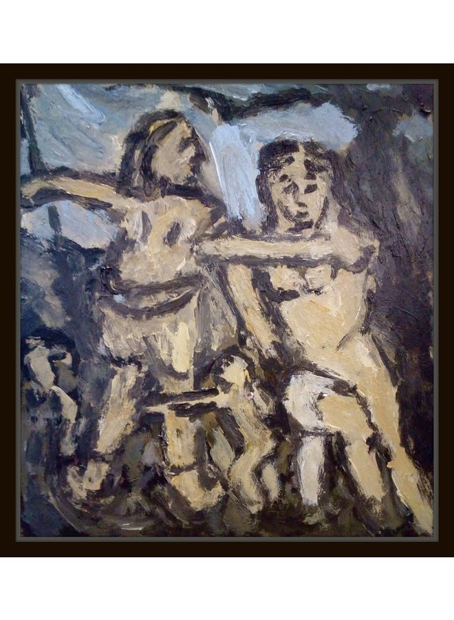 Venus und Adonis, eine Skizze nach Rubens 033