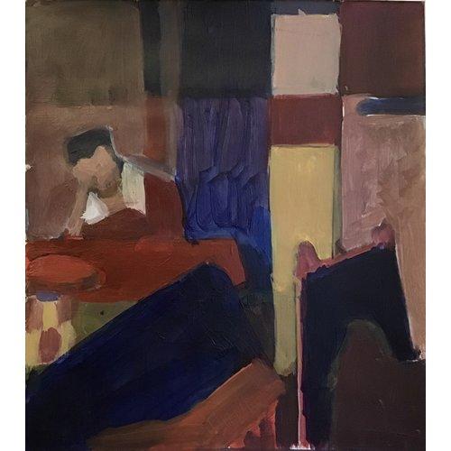 Dominic Vince Femme endormie après Vermeer 030