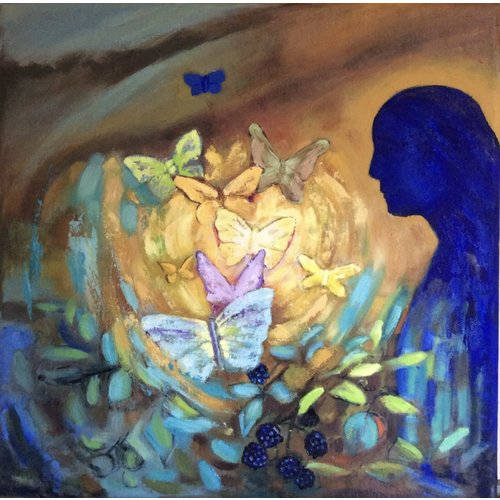 Christine Clarke Homage to Redon No.2  012