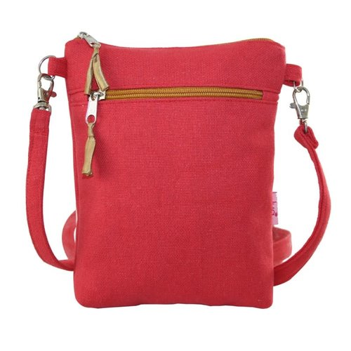 LUA Cross body purse coral 405