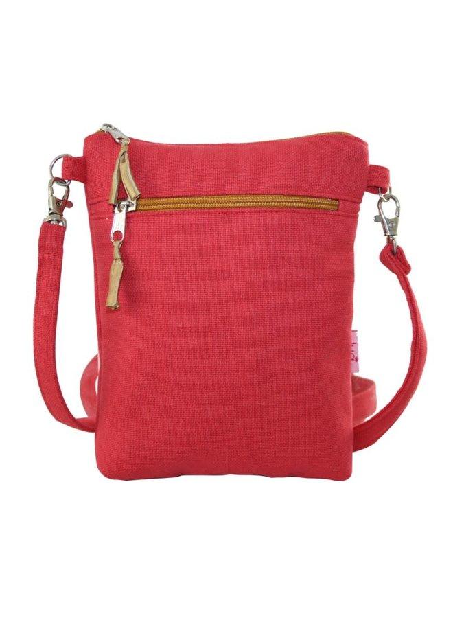 Cross body purse coral 405