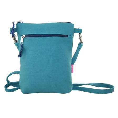 LUA Cross body purse teal 403