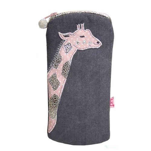 LUA Giraffe  Glasses  Purse Grey/pink 422