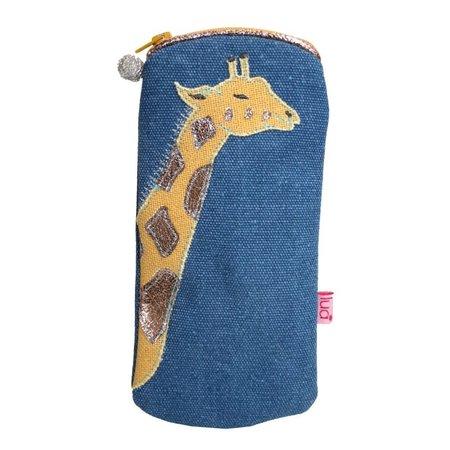 LUA Giraf Bril Portemonnee Petrol 423