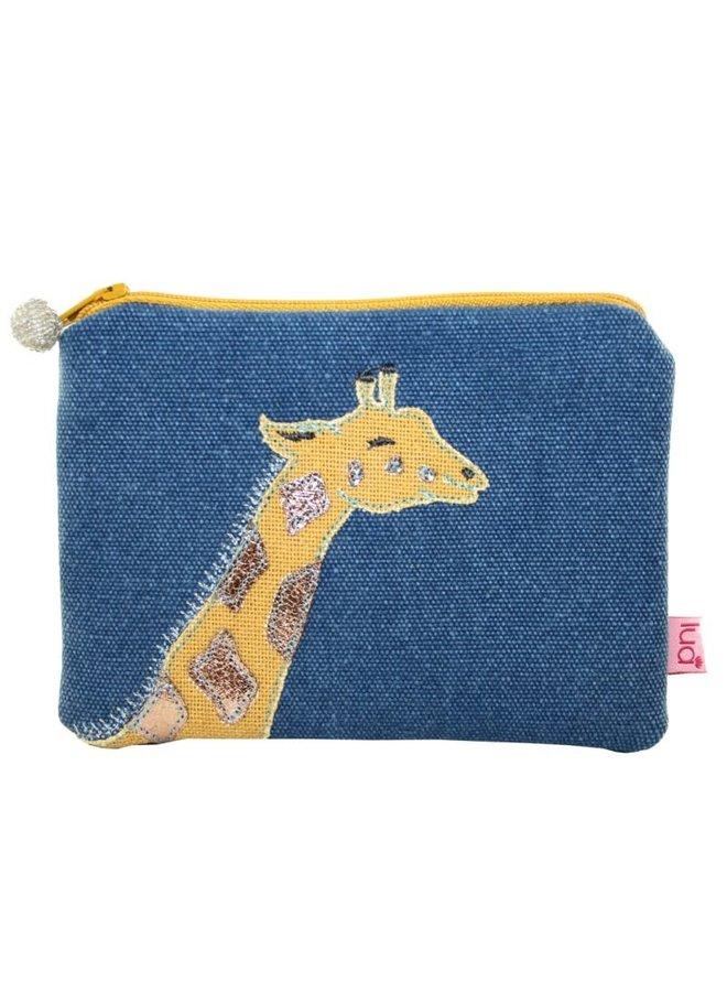 Giraffe gestickte Geldbörse Benzin 434