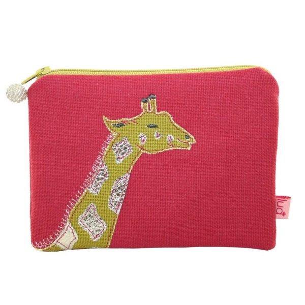 Portemonnee met giraffenmotief Raspberry 433