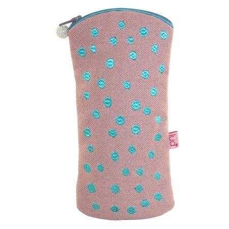 LUA Glasses Dotty case Blush Pink  421