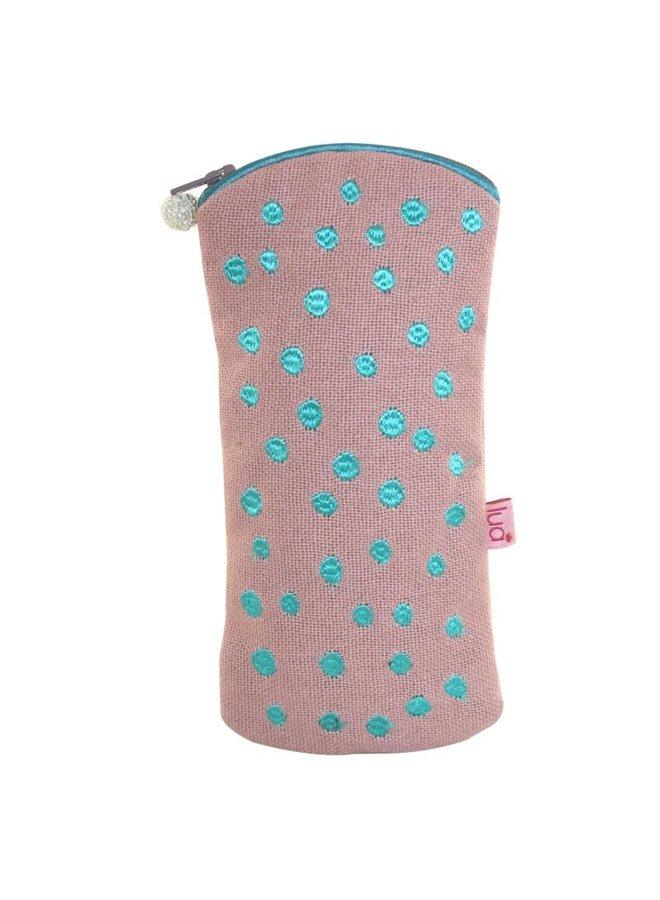Glasses Dotty case Blush Pink  421