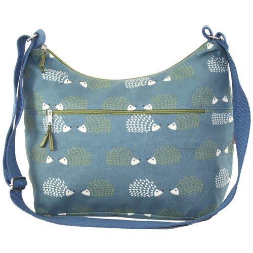 LUA Sling Bag with front zip Hedgehog 409